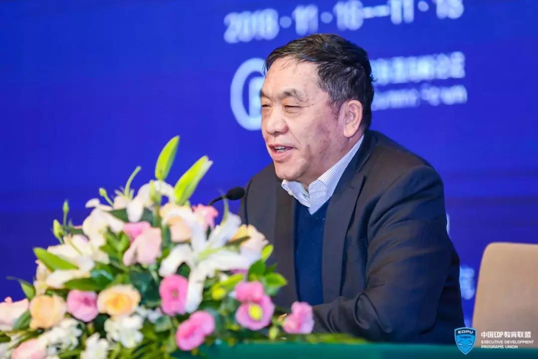 九州通集团董事局主席刘宝林现场分享《九州通的规模发展之路》主题.图片